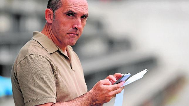 Fran Garagarza llegó al Eibar cuando el equipo estaba en la Segunda división B
