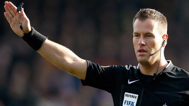 El árbitro holandés Danny Makkelie