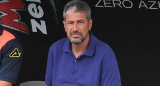 Manolo Márquez, entrenador de la UD. Las Palmas.