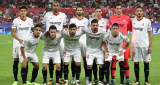 El once del Sevilla de Berizzo ante el Maribor (Juan Manuel Serrano)