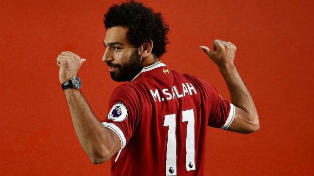 Salah, el día de su presentación