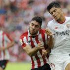 Correa, en el Athletic Bilbao-Sevilla (AFP)