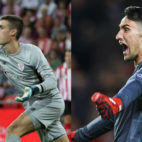 Kepa Arrizabalaga y Sergio Rico protagonizaron un gran duelo bajo palos en el Athletic-Sevilla de LaLiga