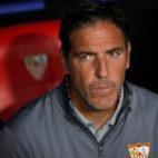 Berizzo, antes del Sevilla FC-Spartak