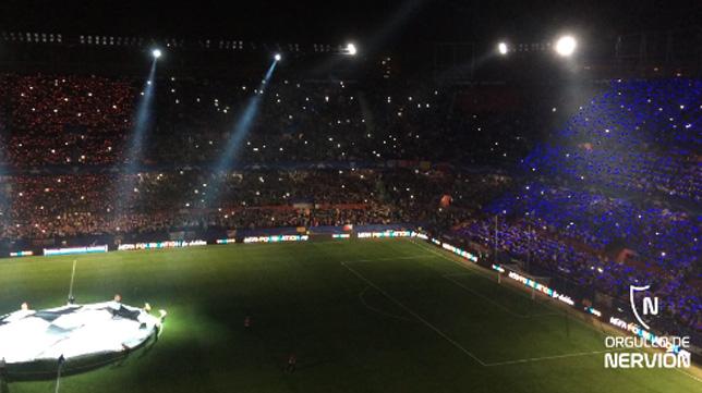 Partido de Champions del Sevilla-Liverpool
