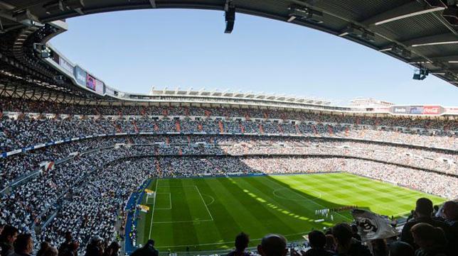 Panorámica del Santiago Bernabéu (Foto: Real Madrid)