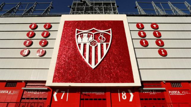 Imagen del exterior del Gol Sur del estadio Ramón Sánchez-Pizjuán