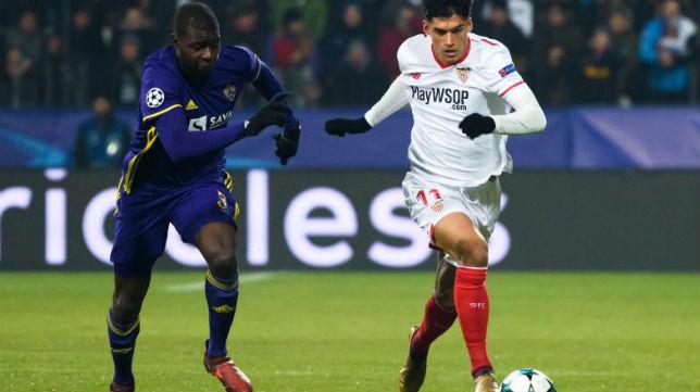 Correa se va de un rival del Maribor