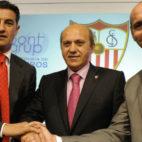 Míchel, el día de su presentación como entrenador del Sevilla FC (Foto: Jesús Spínola)