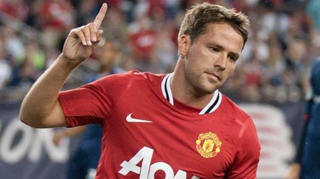Owen, en su etapa de jugador en el United