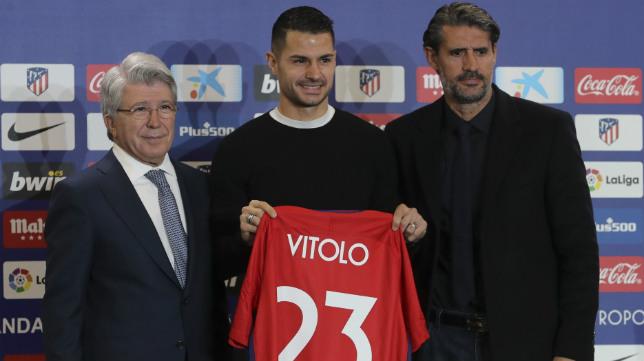 Vitolo ha sido presentado este domingo 31