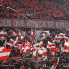 La afición, en el Sevilla-Atlético de Madrid (Raúl Doblado)