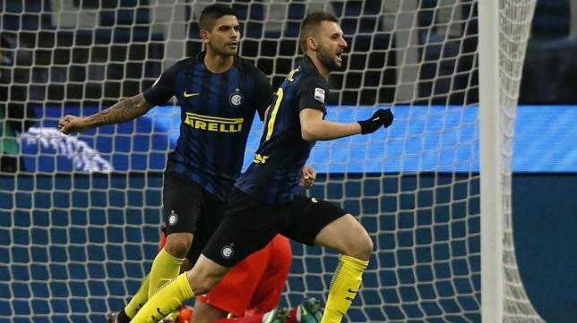 Banega y Brozovic, en el Inter