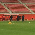 Entrenamiento del Sevilla en la ciudad deportiva (Foto: J. S.)