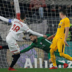 Escudero, en el Sevilla-Atlético de Madrid (Reuters)