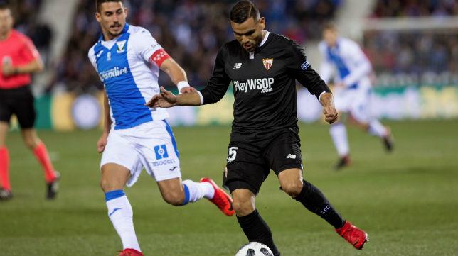 Mercado, en el Leganés-Sevilla FC (EFE)