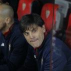 Montella, en el Sevilla-Atlético de Madrid (Raúl Doblado)