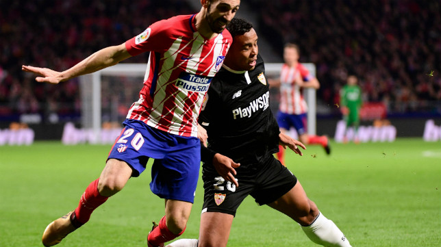 Muriel, en el duelo ante el Atlético