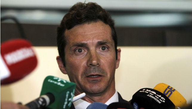 Guillermo Amor, director de Relaciones Institucionales del Barcelona (EFE)