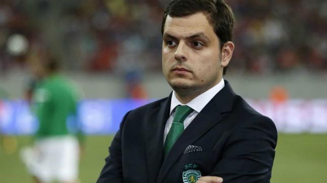 André Geraldes, director deportivo del Sporting de Portugal