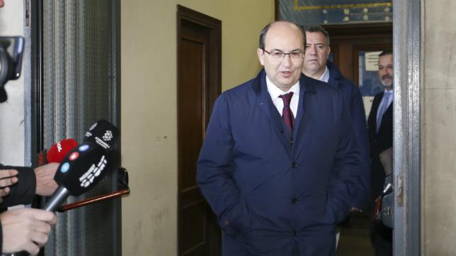 José Castro, a su salida de los juzgados (Foto: Rocío Ruz)
