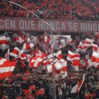 Imagen de la grada de Gol Norte en el Sánchez-Pizjuán en la vuelta de los cuartos de final de la Copa del Rey ante el Atlético de Madrid