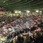 Al afición del Sevilla pudo disfrutar en Old Trafford
