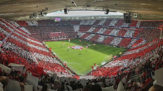 Allianz Arena, estadio del Bayern Múnich (SFC)