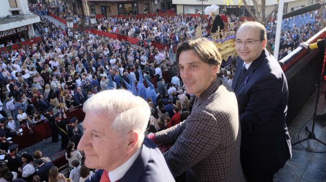 Gabriel Ramos, Montella y José Castro (SFC)