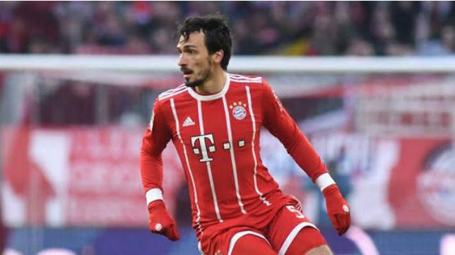 Mats Hummels, defensa del Bayern de Múnich (EFE)