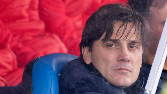 Vincenzo Montella, en el banquillo de Leganés (Foto: AFP)