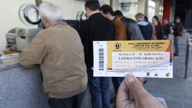 Entrada la final de la Copa del Rey (SFC)
