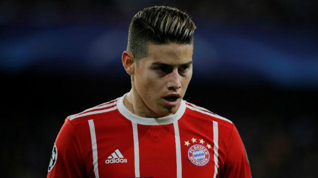 James Rodríguez, durante el Sevilla FC - Bayern de Múnihc (REUTERS)