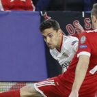 Navas, en el Sevilla-Bayern Múnich (EFE)