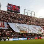 Tifo de la afición en el Sevilla-Bayern Múnich (Juan Manuel Serrano)