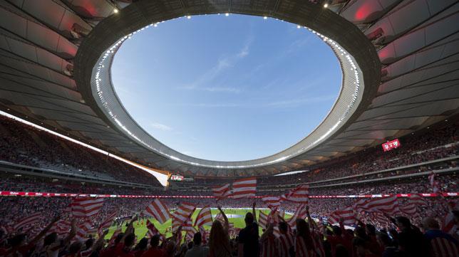 Imagen del Wanda Metropolitano el día de su inauguración (Foto: Ignacio Gil).