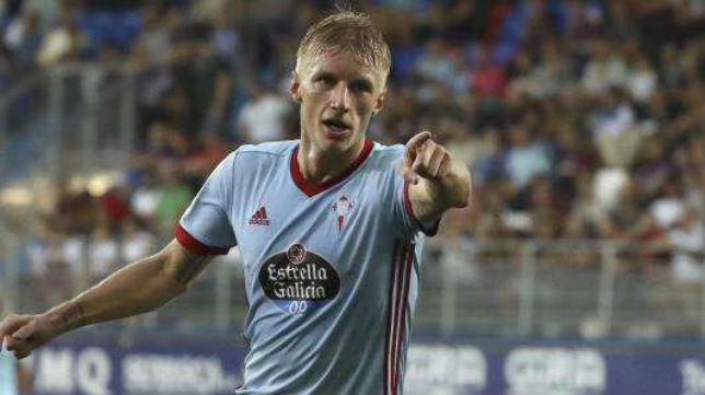 Daniel Wass, jugador del Celta, vinculado al Sevilla