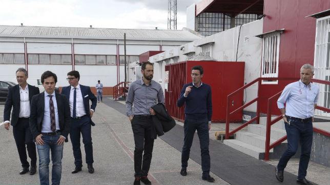 Machín, junto a Martagón, Pablo Blanco y Joaquín Caparrós (Foto: SFC)