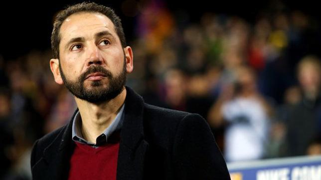 El técnico del Girona, Pablo Machín