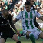 Sandro, durante el Betis-Sevilla