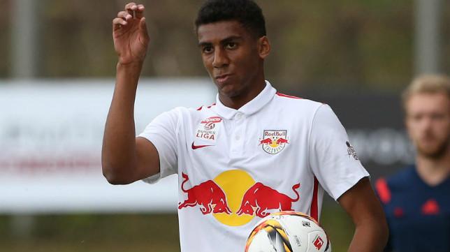 Bernardo, jugador del RB Leipzig, durante su etapa en el RB Salzburgo