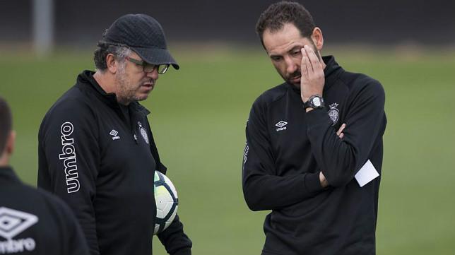 Jordi Guerrero y Pablo Machín