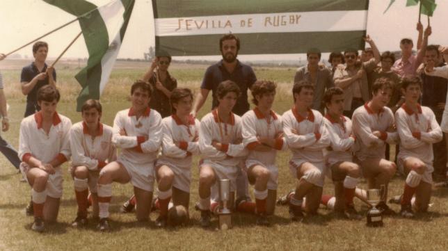 El equipo sevillista de Rugby de categoría de cadetes se hizo con el Campeonato de España (Foto: Sevilla FC)