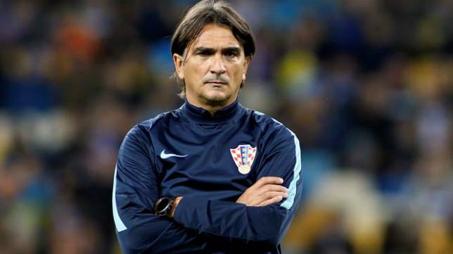 Zlatko Dalic, seleccionador de Croacia