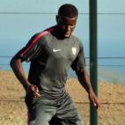 Amadou, en la concentración de Benidorm (foto: Lars ter Meulen)