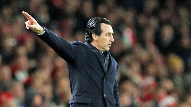 El técnico del Arsenal, Unai Emery (foto: Reuters)