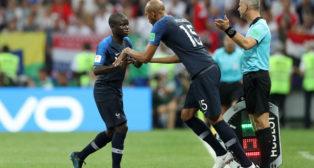 Nzonzi, relevando a Kanté (foto: Reuters)