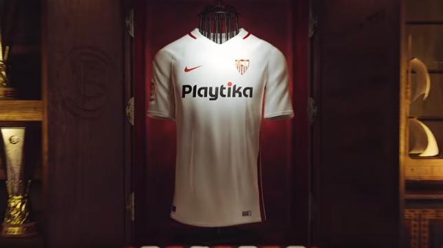 Primera equipación Nike del Sevilla FC
