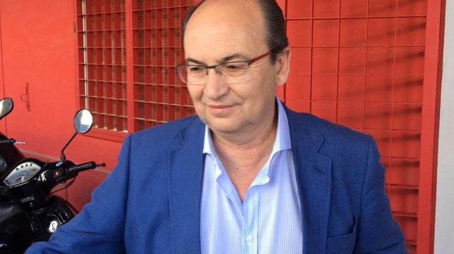 José Castro, en el Ramón Sánchez-Pizjuán (F. M.)