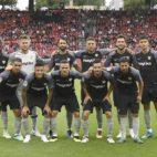 Once inicial del Sevilla FC en el amistoso de pretemporada ante el Benfica (SFC)